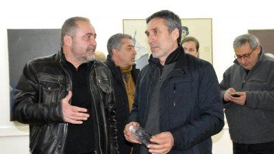 Димо Колибаров (вляво) и Милчо Талев
