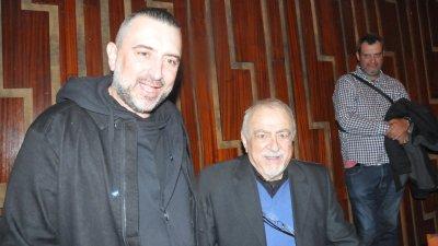 Синът на Ваньо Вълчев - Ивайло пристигна от София за 80-годишнината на татко си