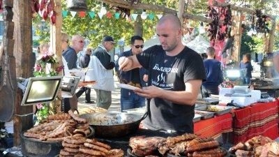 Месото преобладаваше на фестивала
