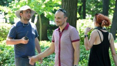 Процудентът Николай Урумов (в средата)
