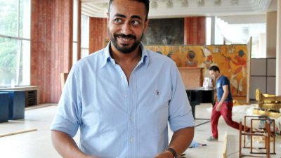 Изложбата се организира от семейната фирма Horus Limited, представлявана от Мохамед Абдел Шафи