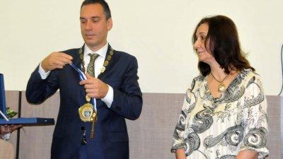 Светла Стоева също получи Ключа от кулата на Община Бургас