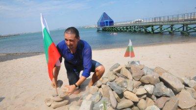 Организаторът на протестите в Бургас Асен Бонджев