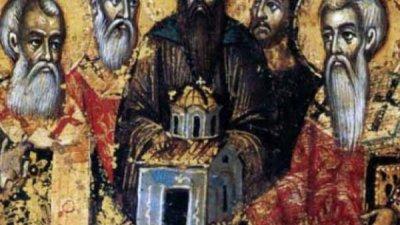 Тия трима братя били родом от Персия и били възпитани от майка си в християнска вяра