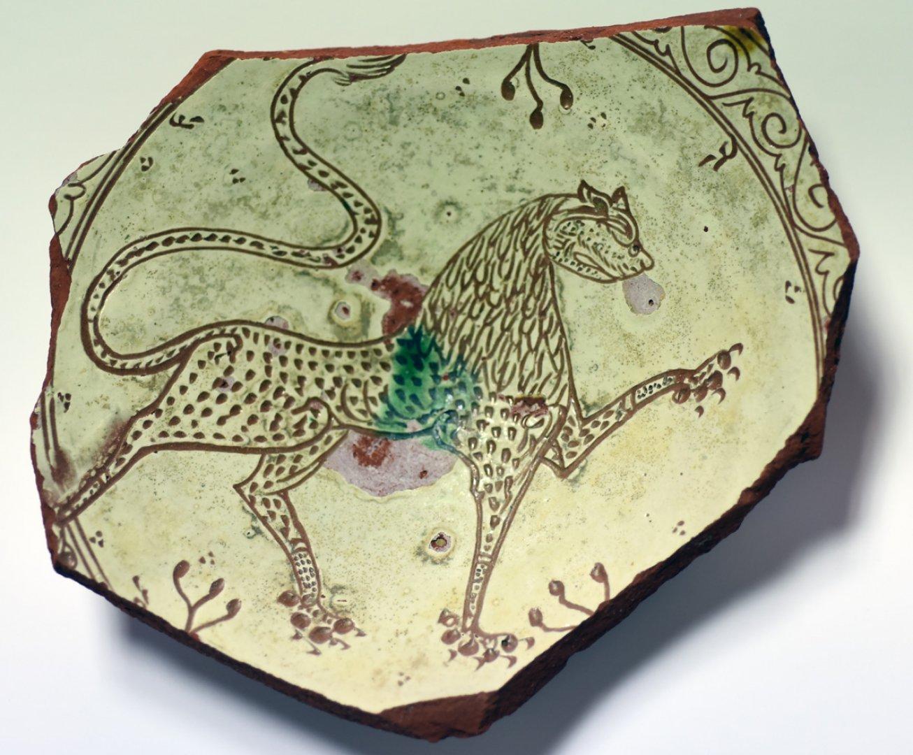 Такова животно има изобразено и върху пръстена на цар Калоян. Снимки РИМ - Бургас