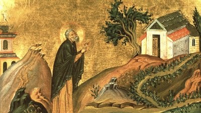 СветиИсидор е живял в V век в Египет