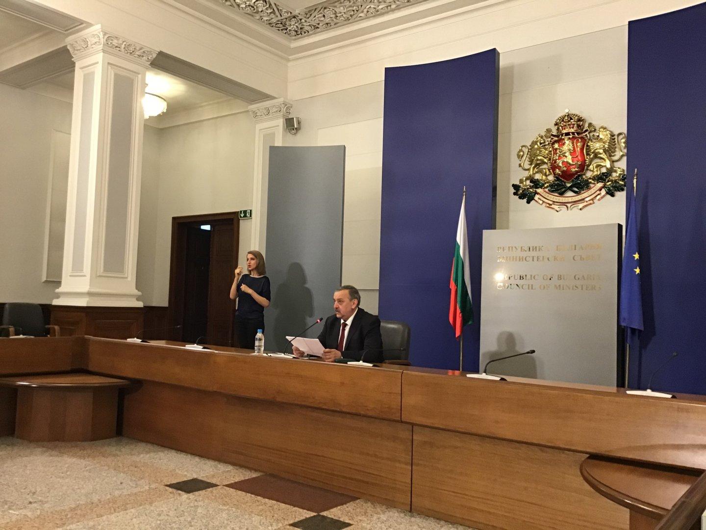 886 са пробите, които са изследвани през последното денонощие, каза проф. Кантарджиев. Снимка Министерски съвет