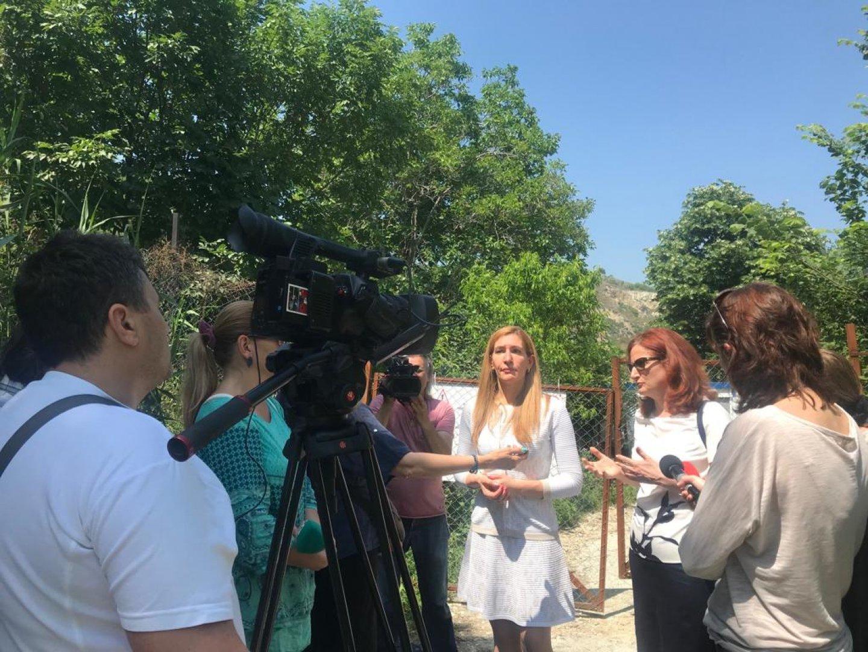 Министър Ангелкова провери Френския залив. Снимка Министерство на туризма