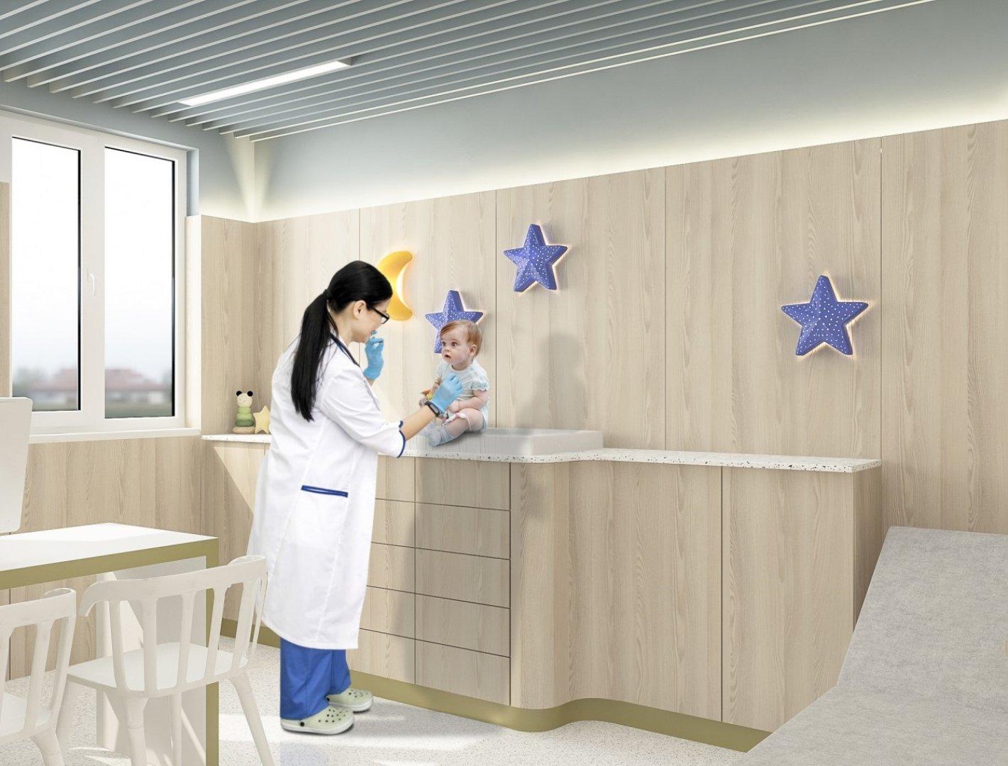 Специализираната детска болница ще предлага лечение на деца от Източна България. Снимката е илюстративна