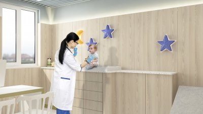 Болницата ще позволи на медицинските специалисти да помагат на децата с различни медицински проблеми. Снимката е илюстративна