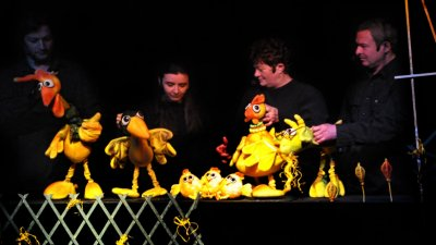 Фестивалът се организира от Кукления театър
