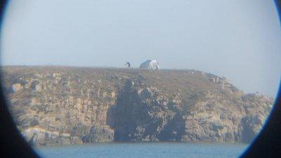 Островът е част от резерват Ропотамо. Снимки РИОСВ