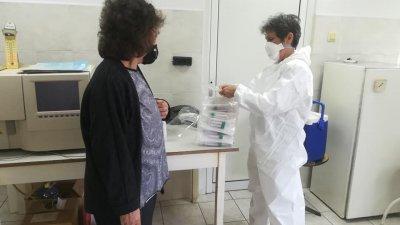Тестовете са направени от служители на РЗИ - Бургас. Снимки Община Царево