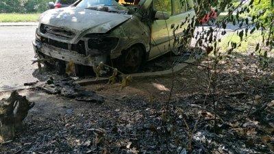 Техническа неизправност е вероятната причина за пожара. Снимки Черноморие-бг