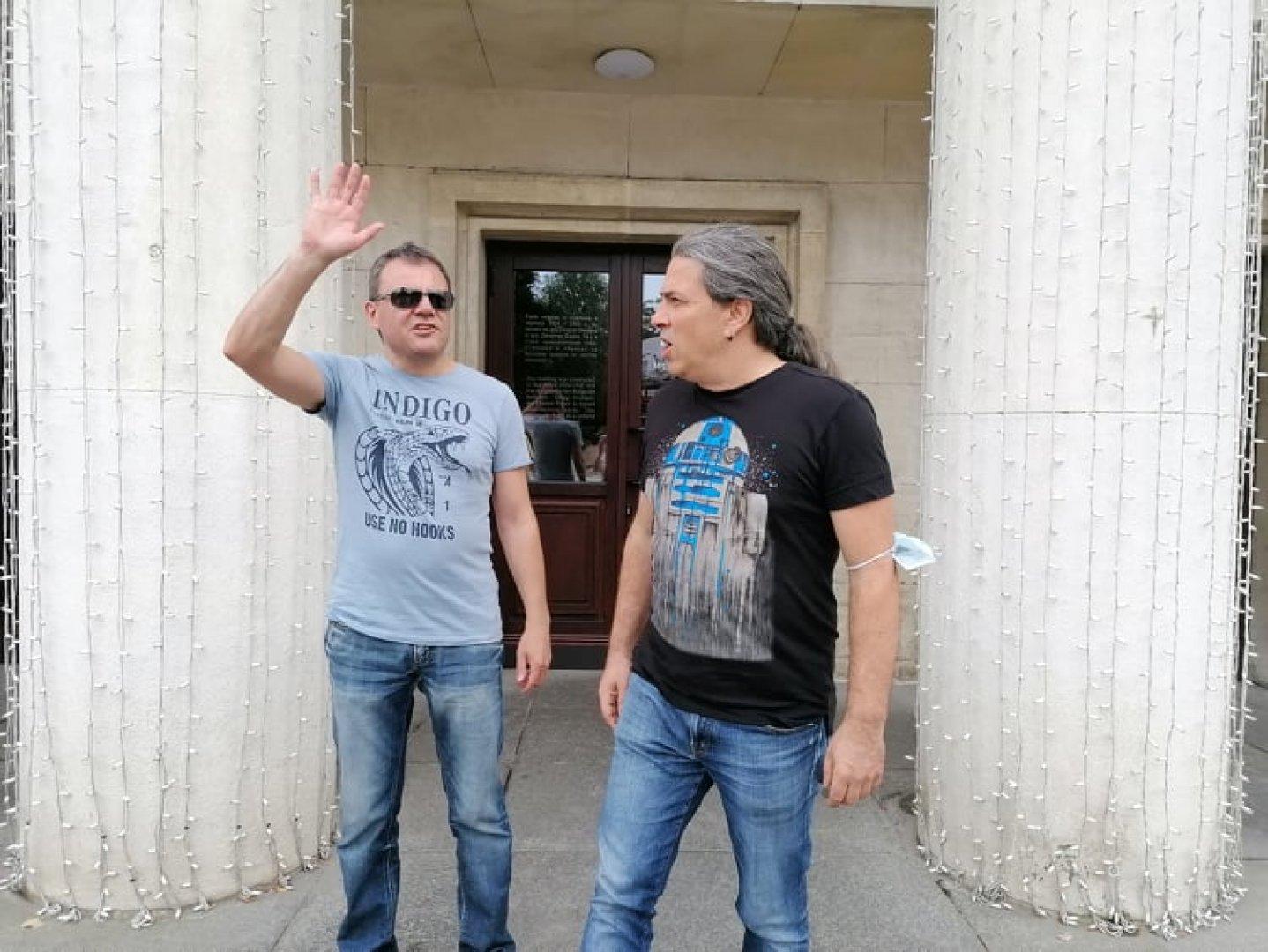 Славчо (вляво) и Наско от Б.Т.Р. ще свирят в последната вечер на феста. Снимки Черноморие-бг