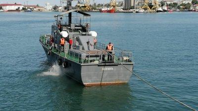 Военноморските сили празнуват тази година 141 г. от създаването си. Снимка Черноморие-бг