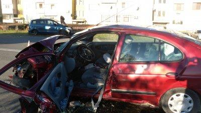 Инцидентът е станал тази сутрин по неустановени засега причини. Снимка ОД на МВР