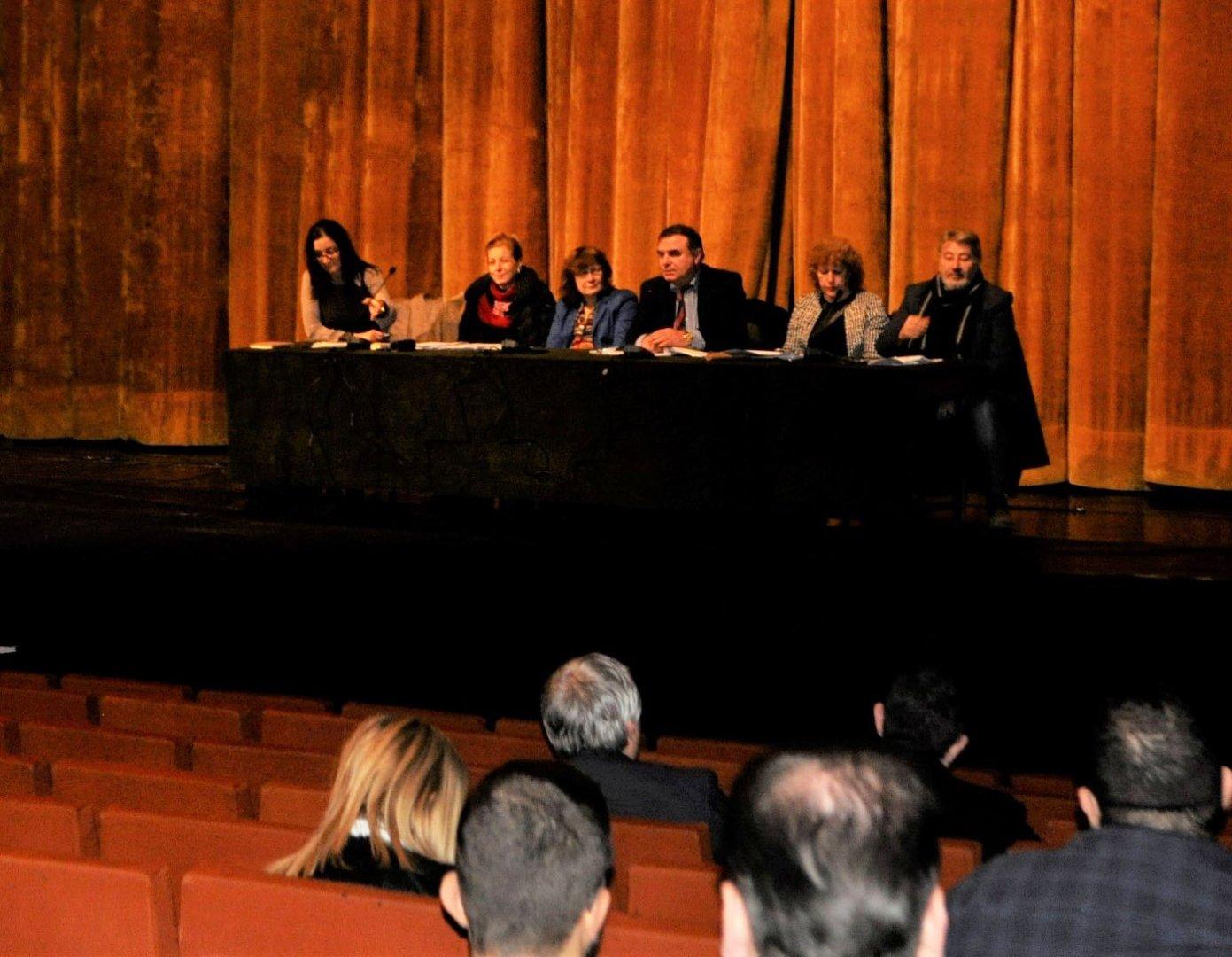 В обсъждането участваха всички зам.-кметове на общината. Снимка Община Бургас