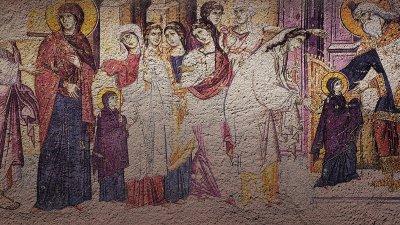 На този ден Йоаким и Ана въвели Мария в храма
