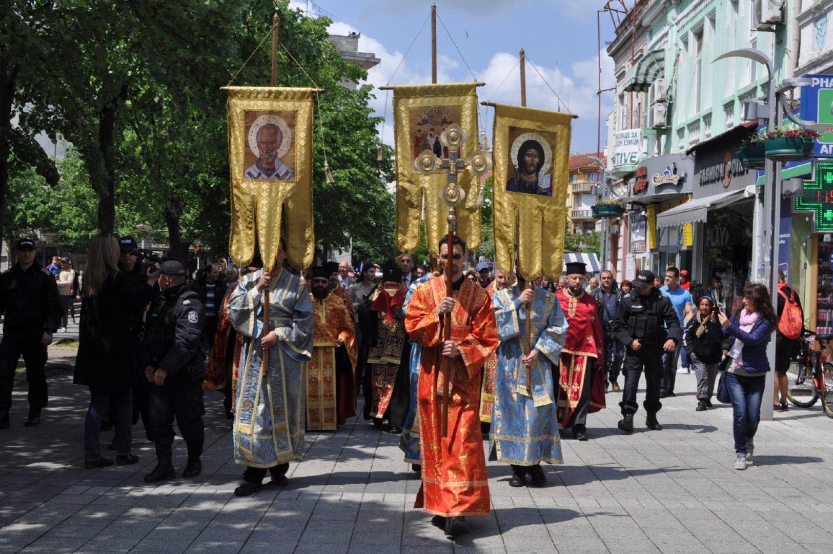На 6 май отдаваме почит на свети Георги Победоносец. Снимка Община Бургас