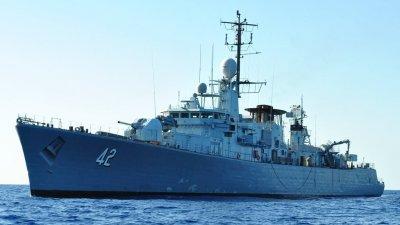 Фрегата Верни ще отплава на 19-ти октомври
