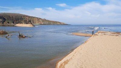 Река Велека промени и коритото си при устието си в Черно море