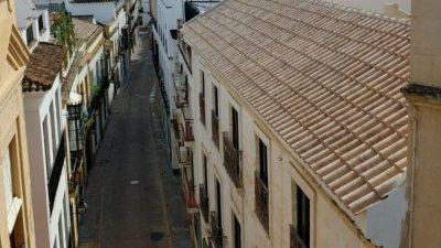 Преди коронавируса по-голямата част от деня си жителите на Кордоба прекарват навън, а сега улиците са пусти. Снимки Мария Горанова