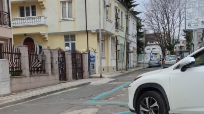 Този участък от 4-ти май вече ще функционира като Зелена зона. Снимки Иво Димитров