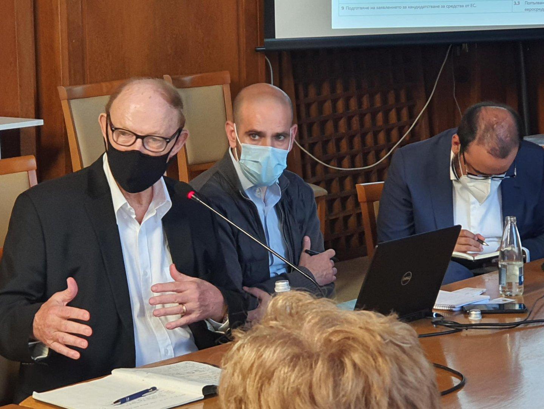 Екипът от специалисти проведе тридневни срещи в Бургас. Снимки Община Бургас
