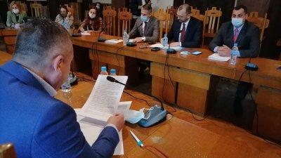 Днес се състояха консултации за състав на РИК Бургас. Снимка Черноморие-бг