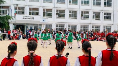 Училището е единственото от Бургас одобрено на първия етап на програмата. Снимка ОУ Елин Пелин