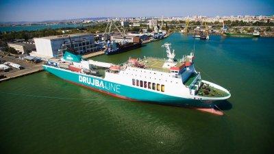 Корабът е модерен, ро-ро пасажерски, единствен по рода си в България и поддържа една редовна линия между Бургас и Батуми. Снимки Община Бургас