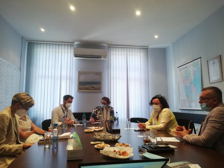 Срещата бе по инициатива на мисията, която е изпратила експерти и десетки наблюдатели у нас. Снимка ГЕРБ - Бургас