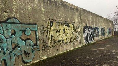 Стената не беше използваема три десетилетия