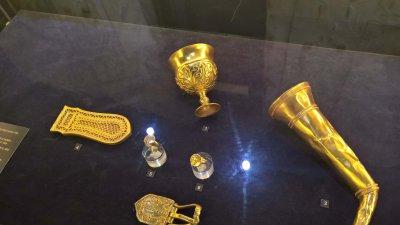 Оригиналите на експонатите се съхраняват в музея Ермитаж в Санкт Петербург