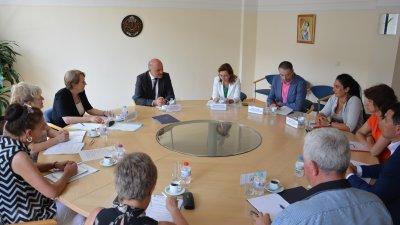 Заседанието се проведе днес в Министерството на труда и социалната политика. Снимка Пресцентър МТСП