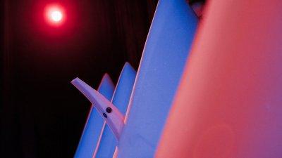 Бургаският Куклен театър ще играе парченцето в Загреб. Снимка Куклен театър