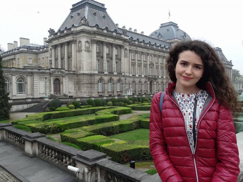 Натали Георгиева е ученичка в 11 клас. Снимка Личен архив