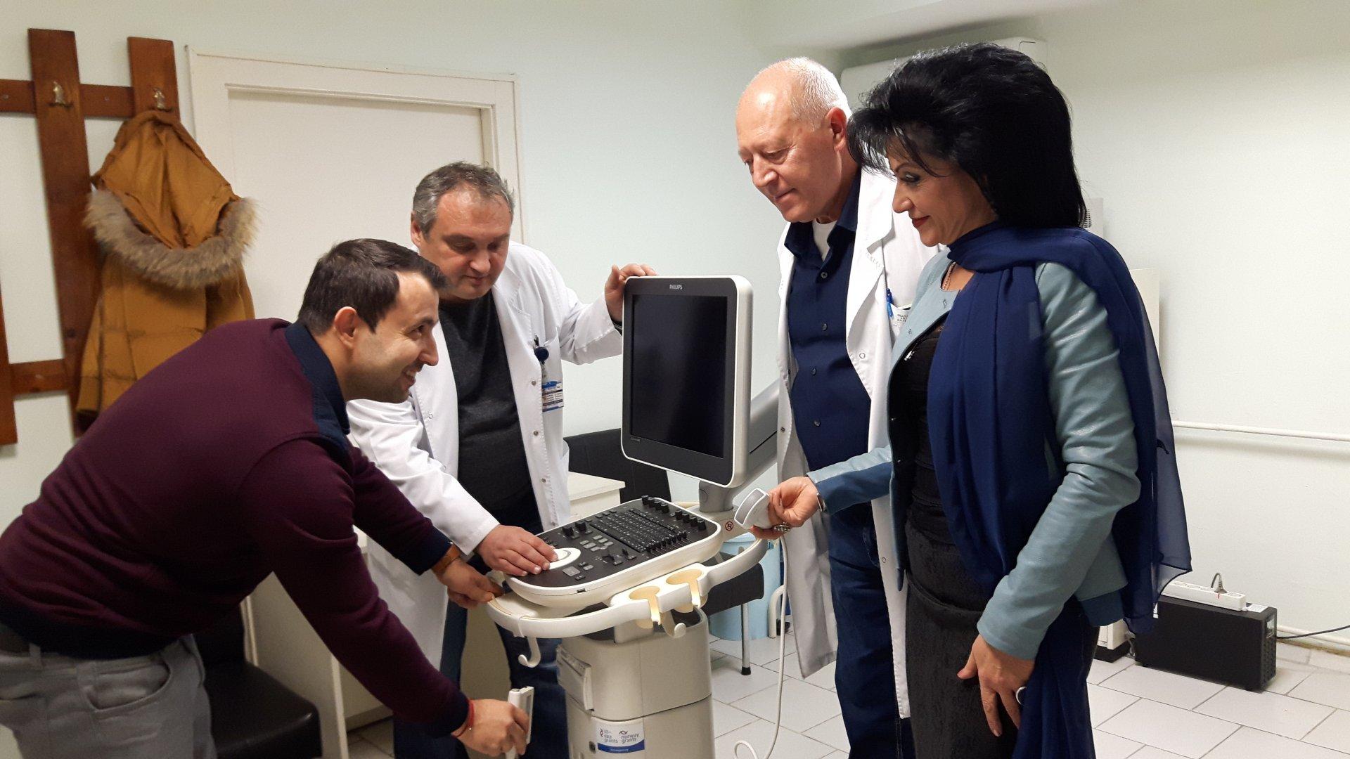 Ехографът - последно поколение Philips вече е инсталиран в Отделението по гинекология