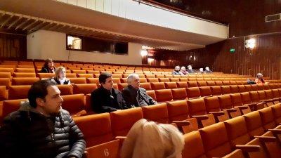 Общественото обсъждане се състоя в залата на НХК