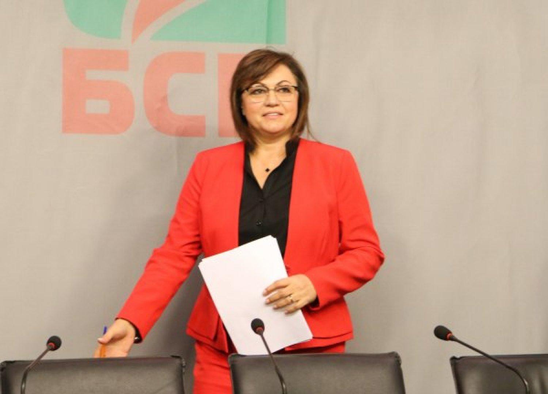 Корнелия Нинова се очаква по обяд днес в Бургас. Снимка Сега
