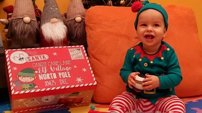 Това е първата Коледа на малкия Борил Цонев