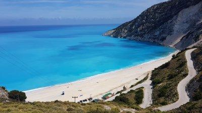 Така изглежда един от заливите край островите в Гърция. Снимки Димитрина Павлова