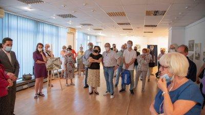 ИЗложбата ще гостува в полската столица до края на август. Снимка Ясен Казанджиев