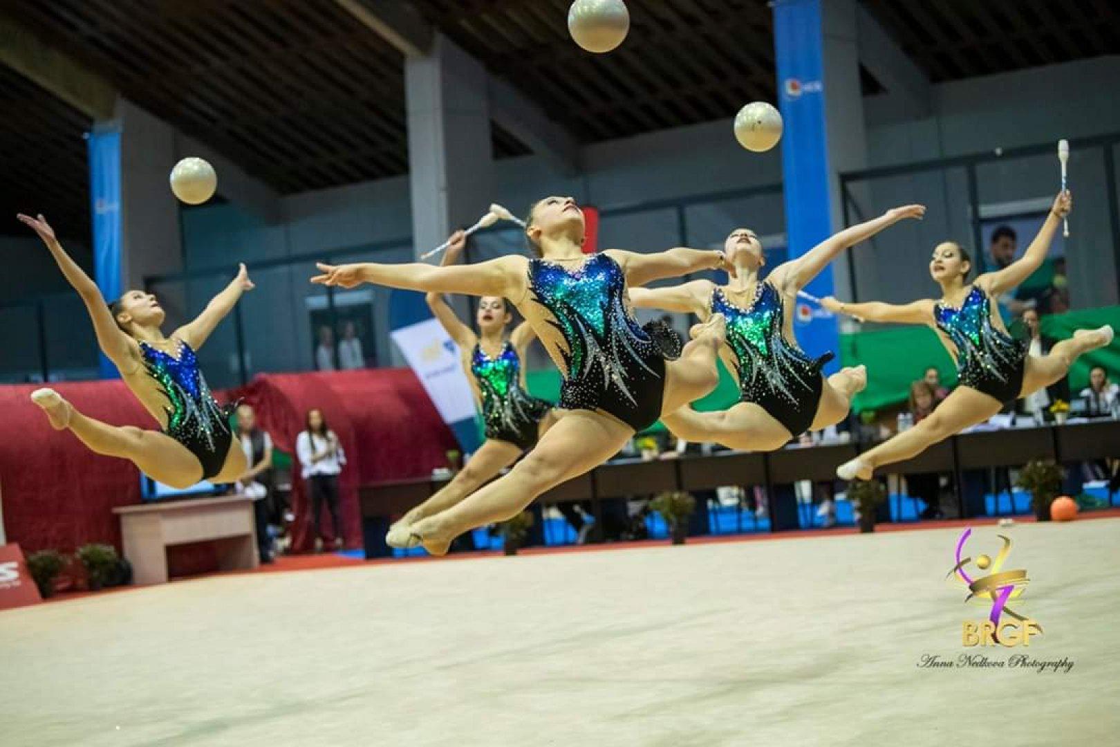 Бургаските момичета бяха оценени от президента на федерацията Илиана Раева