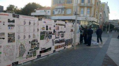 Проекти на младите архитекти са изложени в центъра на Варна
