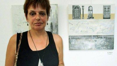 Една от последните изложби на Ирена Иванова бе в бургаската галерия Неси. Снимка галерия Неси