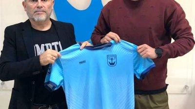 Професионалната кариера на Венелин Филипов (вдясно) започва в Черноморец. Снимка ФК Созопол