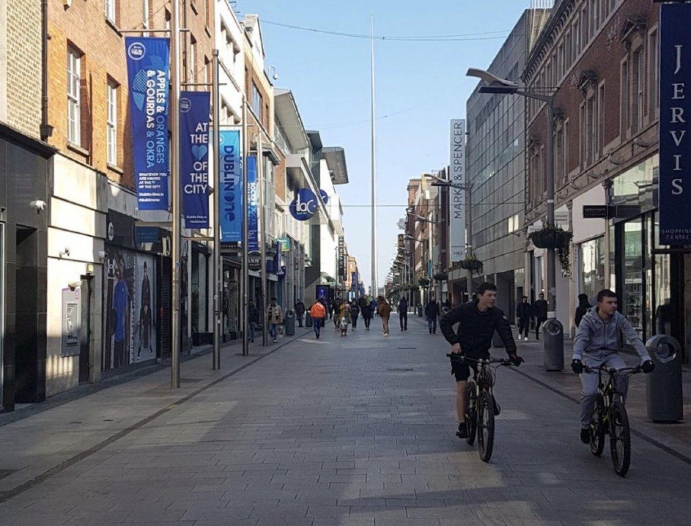 Паника сред жителите на Дъблин няма, но те трябва да спазват някои ограничения заради корона вируса. Лора Димитрова