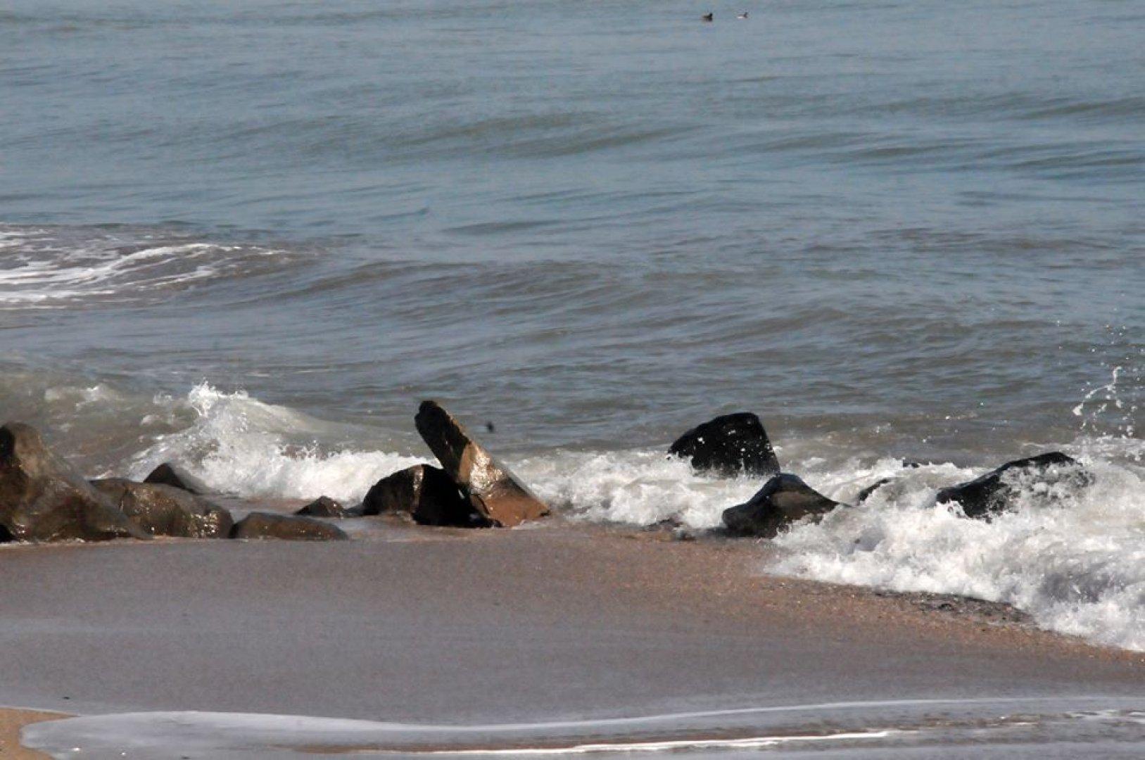 Вълнението на морето е 1-2 бала. Снимка Лина Главинова